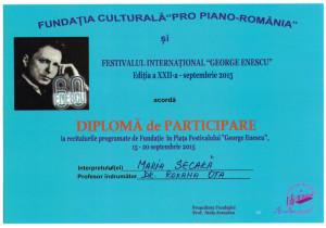 Dimploma Enescu 2015